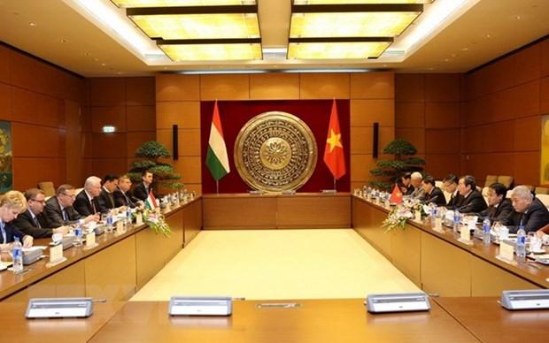 Vietnamese, Hungarian parliaments foster partnership hinh anh 1
