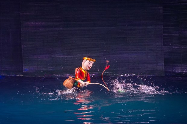 Water puppetry to highlight Vietnamese art at int'l festival hinh anh 1