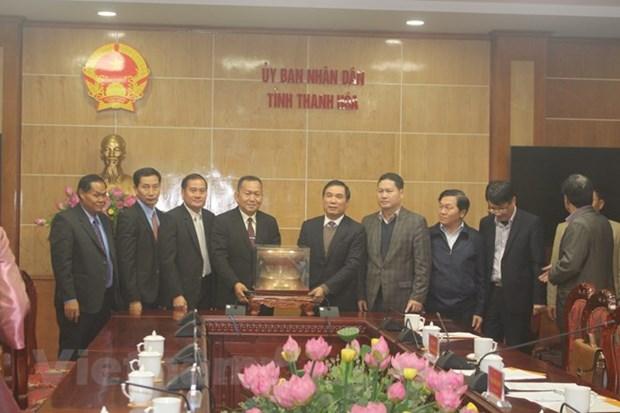 Lao News Agency delegation visits Thanh Hoa province hinh anh 1