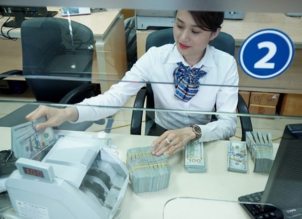 Reference exchange rate resumes upward trend on week's last day hinh anh 1