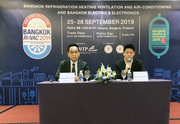 Thai air-con, electronics exhibitions introduced in HCM City hinh anh 1