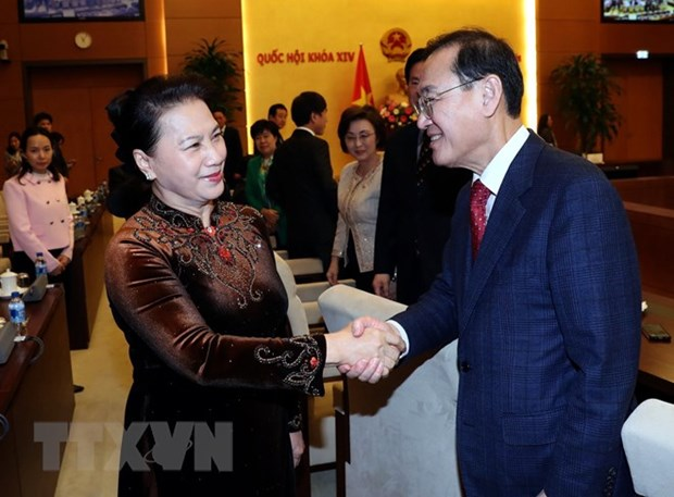 RoK parliamentarians welcomed in Hanoi hinh anh 1