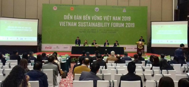 Vietnam Sustainability Forum 2019 takes place in Hanoi hinh anh 1