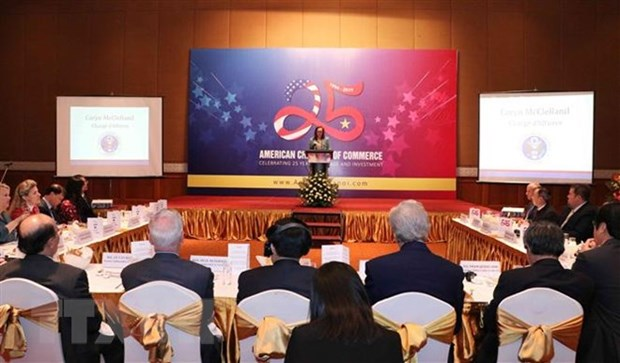 Vietnam, US bolster economic cooperation hinh anh 1