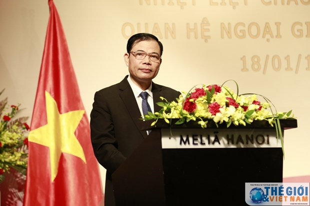 Anniversary of Vietnam-China diplomatic ties observed in Hanoi hinh anh 1