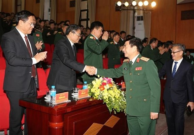 Defence Ministry marks 70th founding anniversary of Lao army hinh anh 1