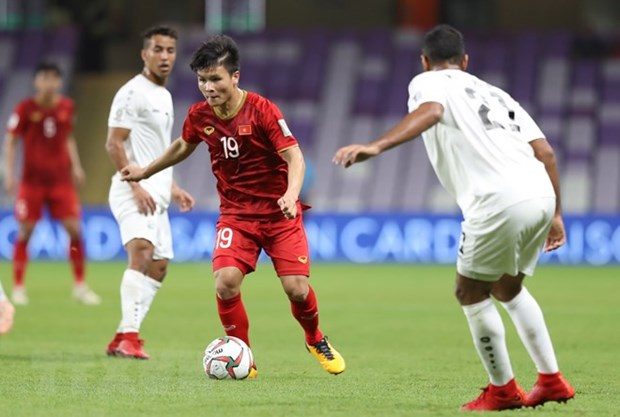 Hai among 10 best performers of Asian Cup's third round hinh anh 1