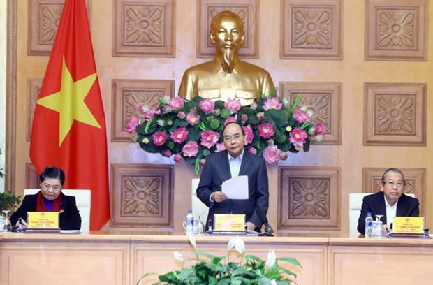 PM urges thorough preparations for 13th National Party Congress hinh anh 1
