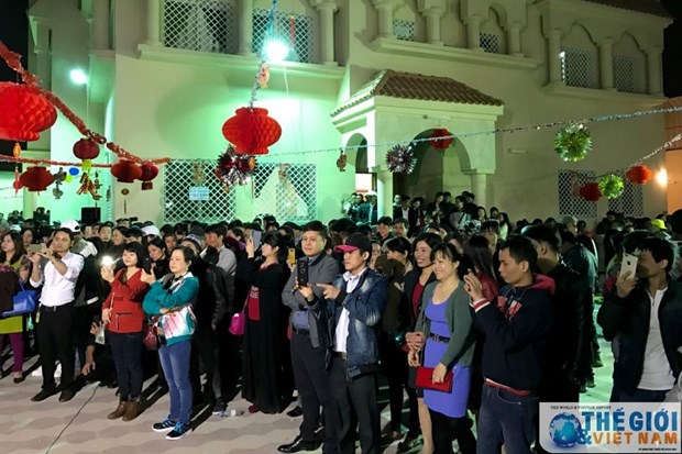 Tet get-together held for Vietnamese expats in Saudi Arabia hinh anh 1