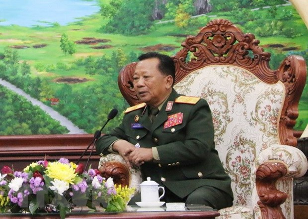Vietnam-Laos military ties should be upgraded: Lao minister hinh anh 1