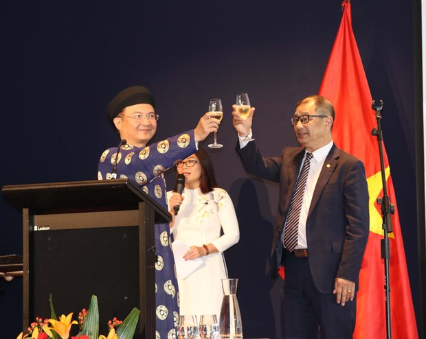 Lunar New Year get-together for Vietnamese in Australia hinh anh 1