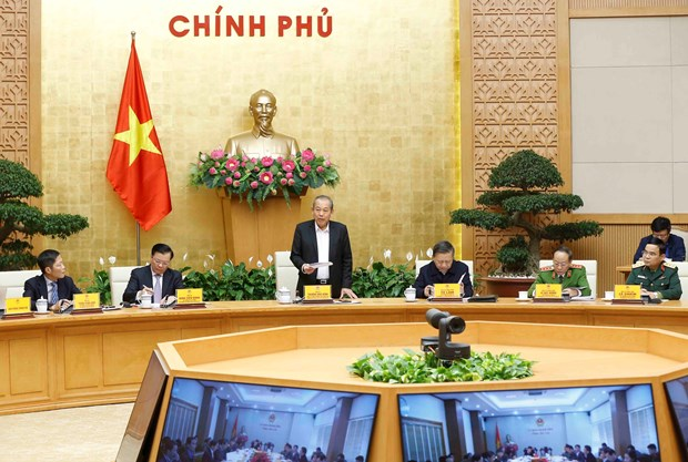 Deputy PM demands corrupted officials be handled strictly hinh anh 1