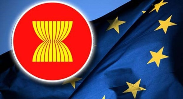 EU, ASEAN Foreign Ministers meet on furthering cooperation hinh anh 1