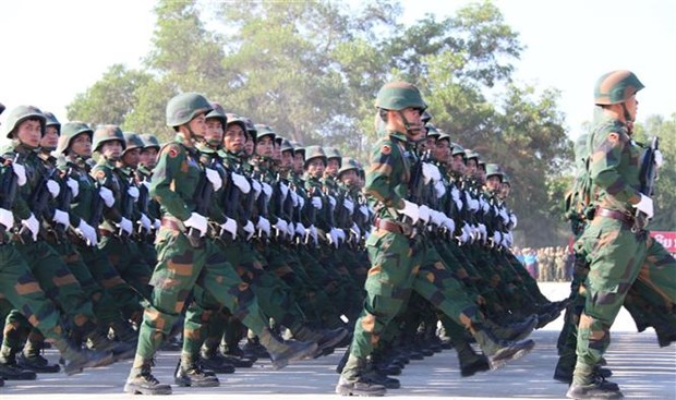 Lao People's Army celebrates 70th founding anniversary hinh anh 1