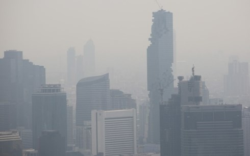 Thailand's Bangkok capital still covered with harmful smog hinh anh 1