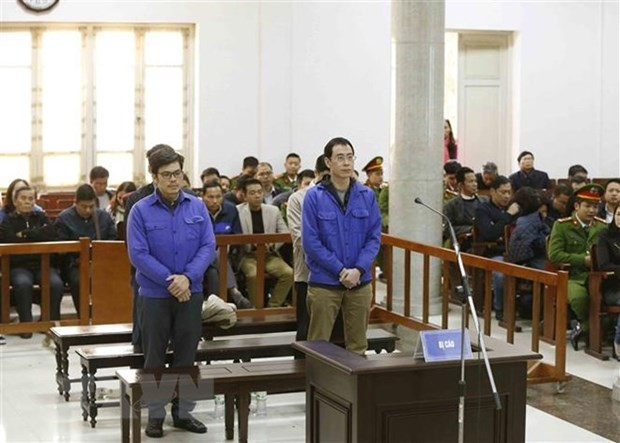 Former petrochemical executives receive 4-8 years in prison hinh anh 1