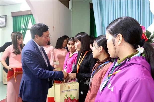 Deputy PM pays pre-Tet visit to Nam Dinh province hinh anh 1