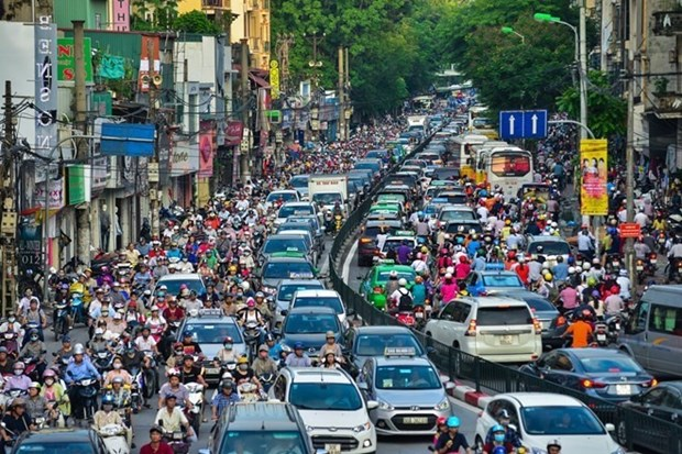 Hanoi city targets 7.4-7.6% economic growth in 2019 hinh anh 1