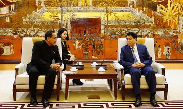 Hanoi wants twinning ties with Bangkok hinh anh 1