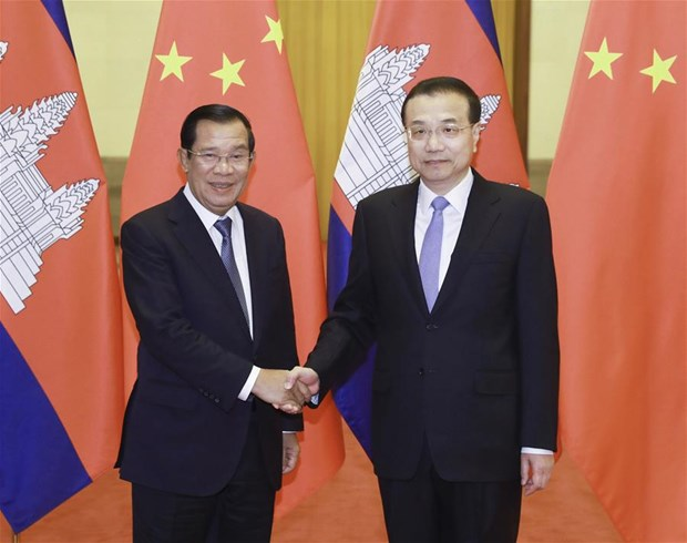 Cambodia, China pledge to further foster cooperation hinh anh 1