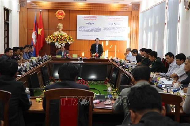 Dak Nong, Cambodia's Mondulkiri province enhance collaboration hinh anh 1
