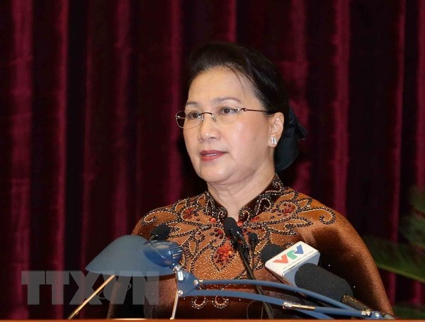 NA Chairwoman directs strengthening of Party inspection, discipline hinh anh 1