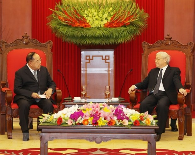 Vietnam treasures friendship with Thailand: Party Chief hinh anh 1