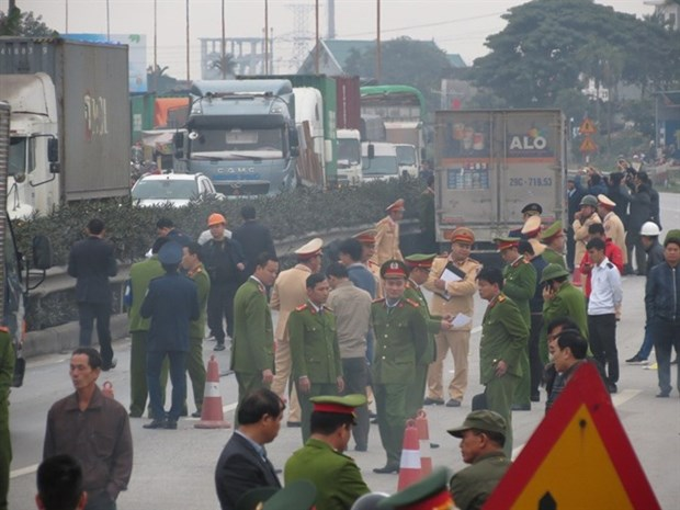 Truck driver prosecuted for deadly crash hinh anh 1