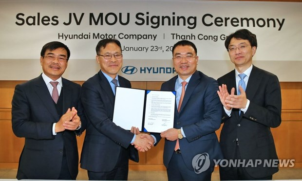 Hyundai to set up joint venture in Vietnam to boost sales hinh anh 1