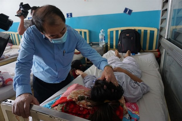 More measles cases reported in HCM City hinh anh 1