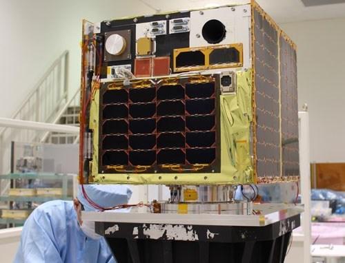 Vietnam's satellite sends back first photos hinh anh 1