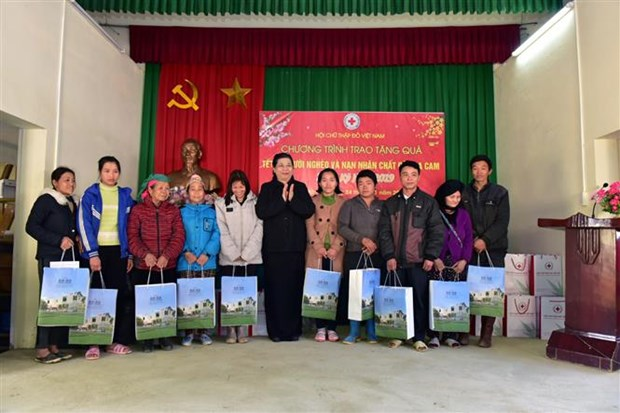 NA Vice Chairwoman pays pre-Tet visit to Son La hinh anh 1