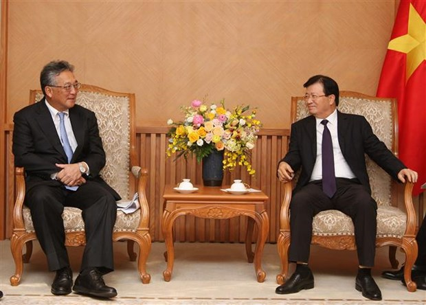 Vietnam values economic cooperation with Japan: Deputy PM hinh anh 1