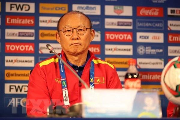 Asian Cup 2019: Park Hang-seo praises Vietnamese players hinh anh 1