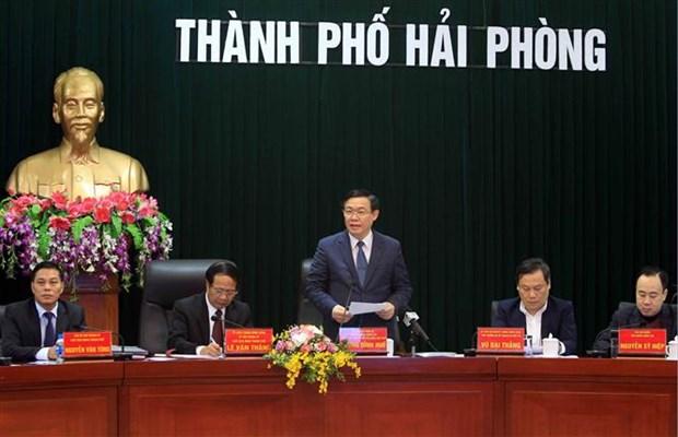 Deputy PM makes FDI fact-finding tours of Hai Phong, Bac Ninh hinh anh 1