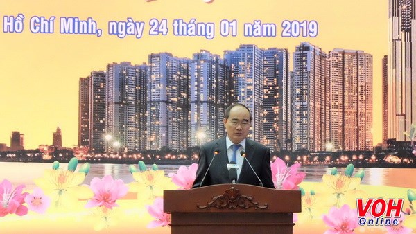 HCM City leaders applaud expats' contributions to homeland hinh anh 1