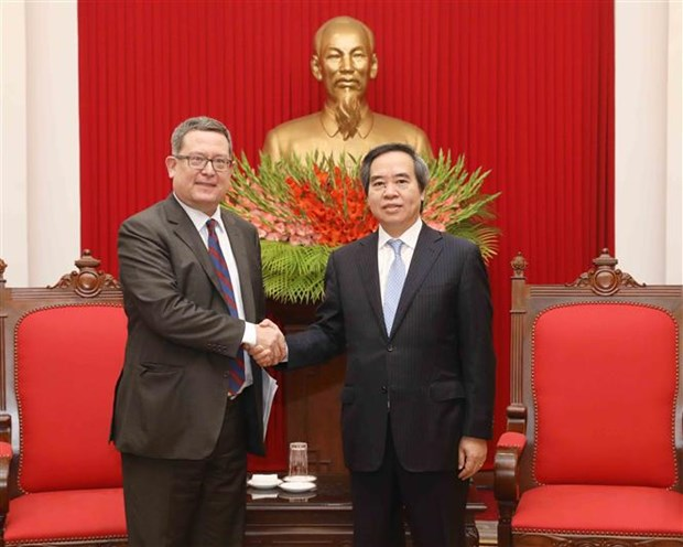 Party official hosts US Trade Representative delegation hinh anh 1