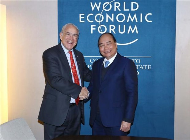 Prime Minister meets with foreign leaders in Davos hinh anh 4