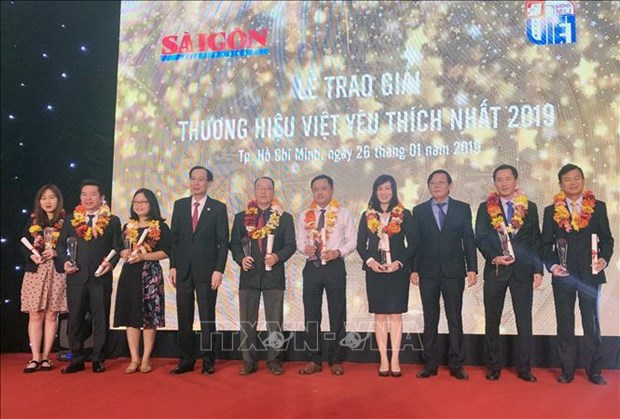 27 most popular Vietnamese trademarks in 2019 announced hinh anh 1