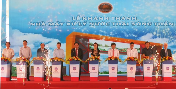 Binh Duong has first wastewater-to-clean water treatment plant hinh anh 1