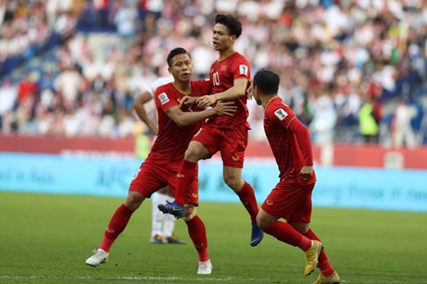 Vietnamese striker tops best goal poll for Asian Cup's Round of 16 hinh anh 1