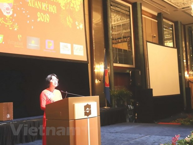 Vietnamese embassies celebrate upcoming Lunar New Year hinh anh 1