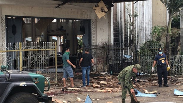 Condolences sent to Philippines over terror bombings hinh anh 1
