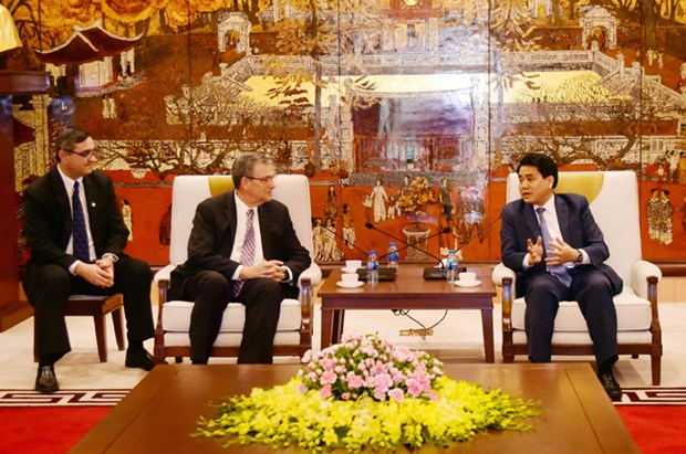 Hanoi leader lauds LDS Church's performance hinh anh 1