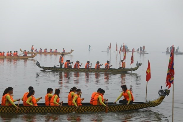 Hanoi: Dragon boat race to run in February hinh anh 1