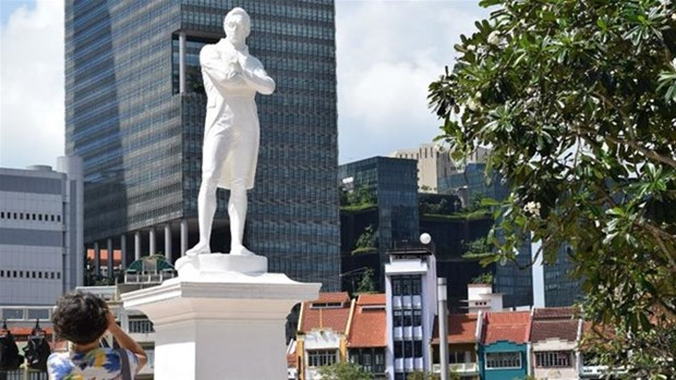 Singapore celebrates 200th founding anniversary hinh anh 1