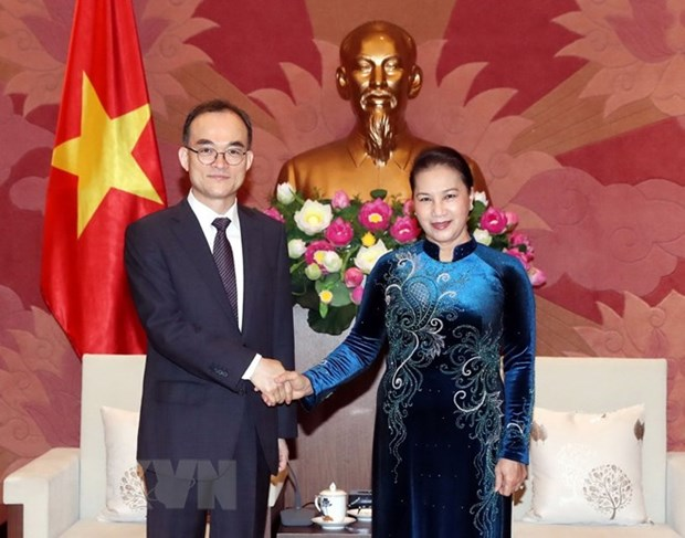 Top legislator receives Korean prosecutor general hinh anh 1