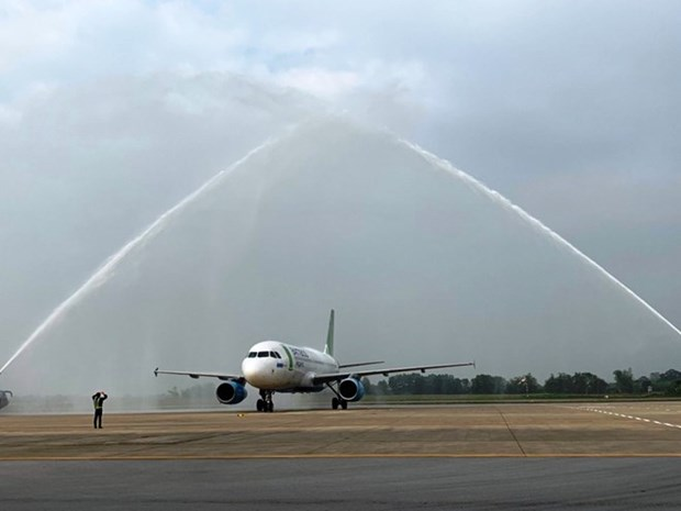 Bamboo Airways opens Ho Chi Minh City-Thanh Hoa air route hinh anh 1