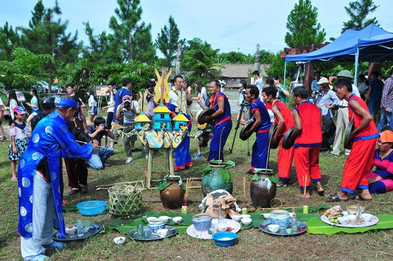 Raglai ethnic people's ceremony recognized as national intangible heritage hinh anh 1
