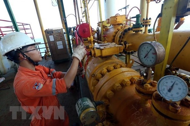 January's oil & gas exploitation exceeds plan hinh anh 1